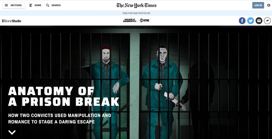 Webby Award Winner - Showtime's 'Escape At Dannemora' | Anatomy of a Prison Break