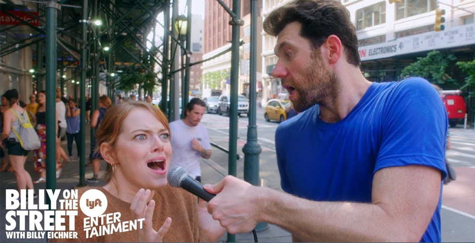 People's Voice - Billy on the Street with Emma Stone