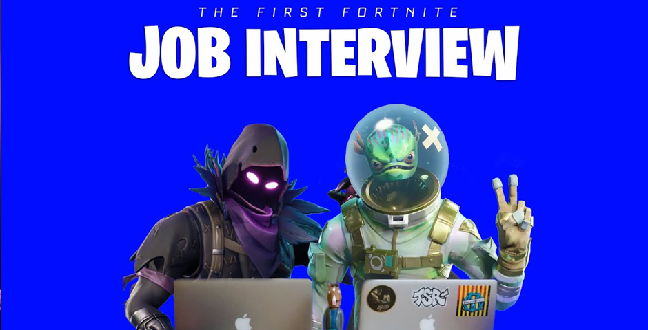 Nominee - JOIN PARTY: THE FORTNITE JOB INTERVIEW