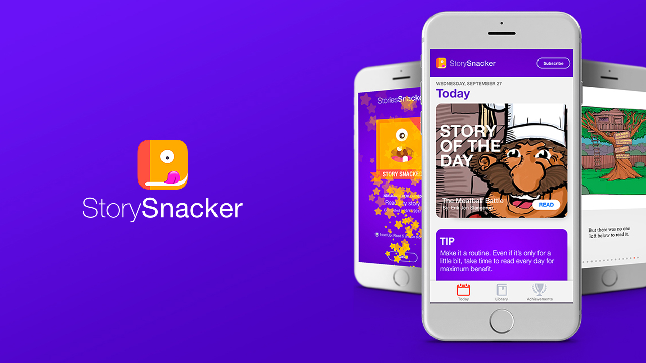 Nominee - StorySnacker: The Read-Aloud Story App for Parents on the Go