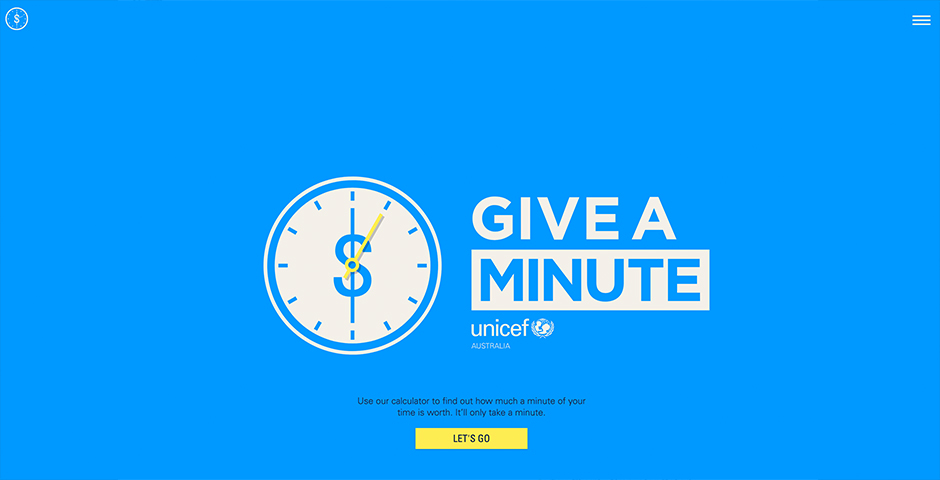 Nominee - Give a minute of your time