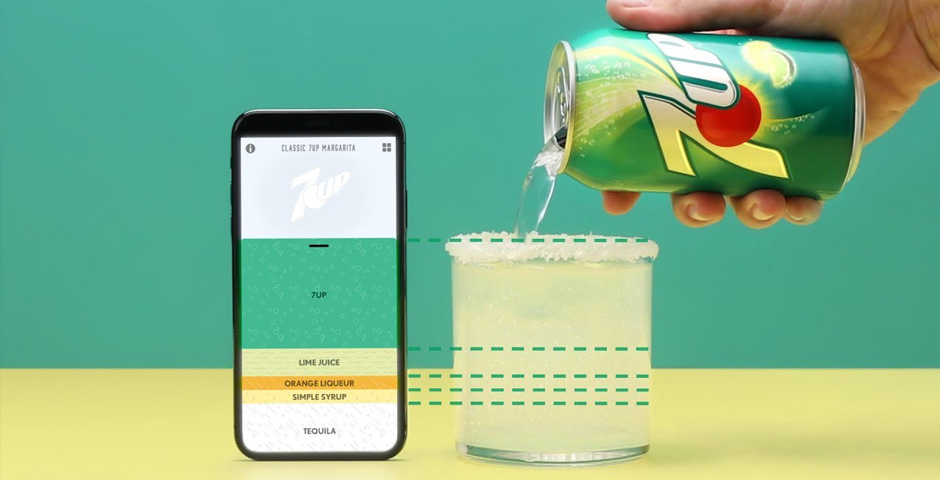 People's Voice - 7UP Digital Bartender