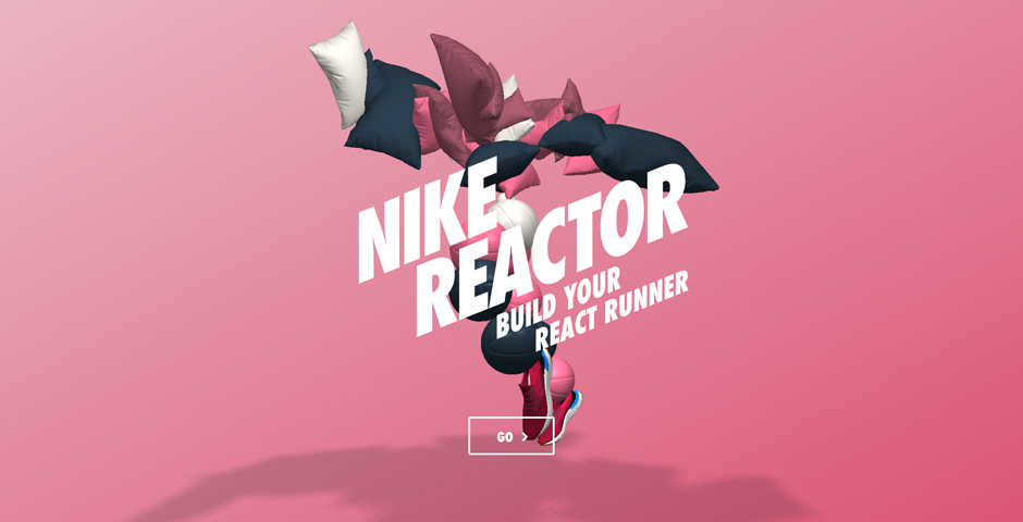 Webby Award Winner - Nike Reactor