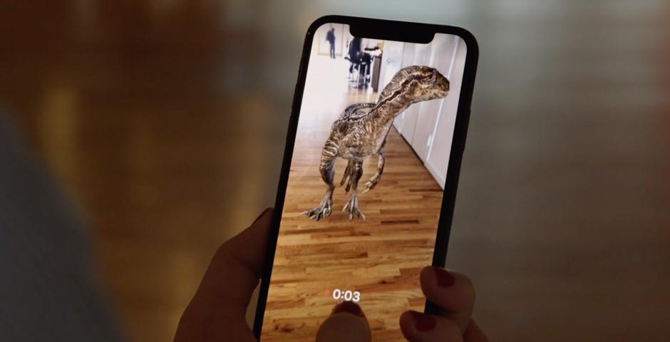 Webby Award Nominee - Jurassic World: Facebook AR Effects
