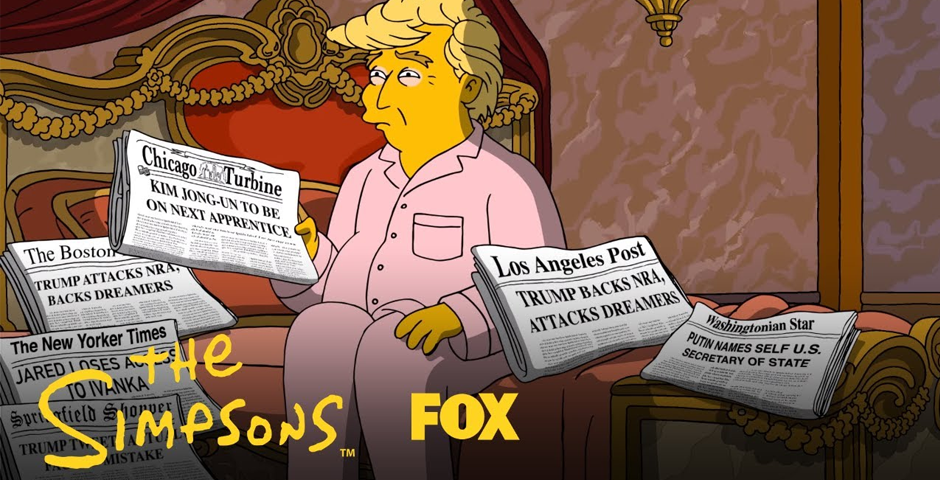 Webby Award Nominee - The Simpsons - A Tale of Two Trumps