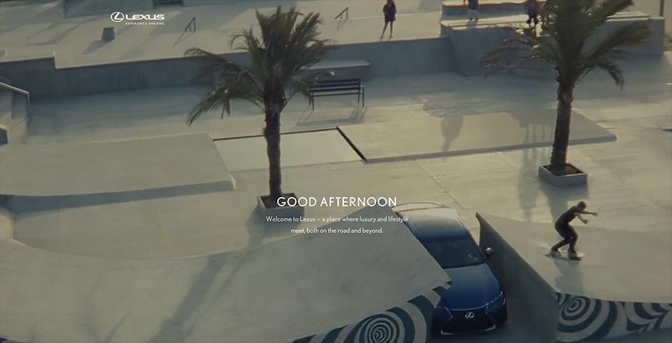 Webby Award Winner - Discover Lexus