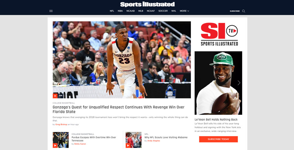 Nominee - Sports Illustrated