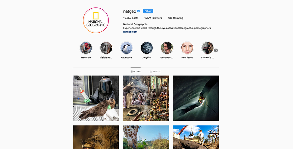 Nominee - National Geographic Social Media
