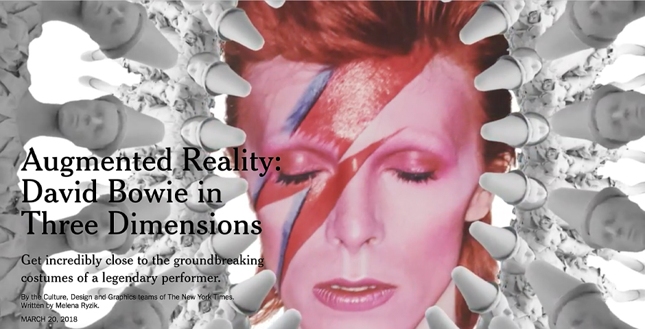 People's Voice - NYTimes – Magicleap: David Bowie in Three Dimensions