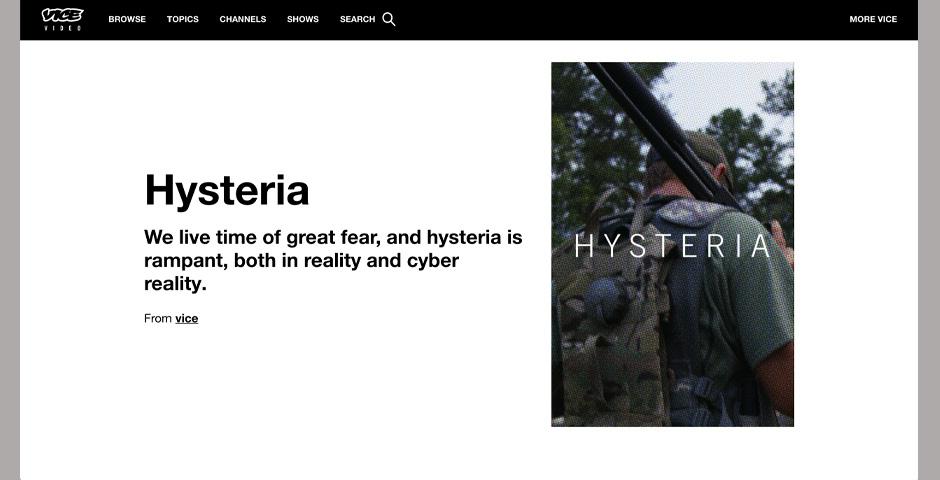 Nominee - Hysteria