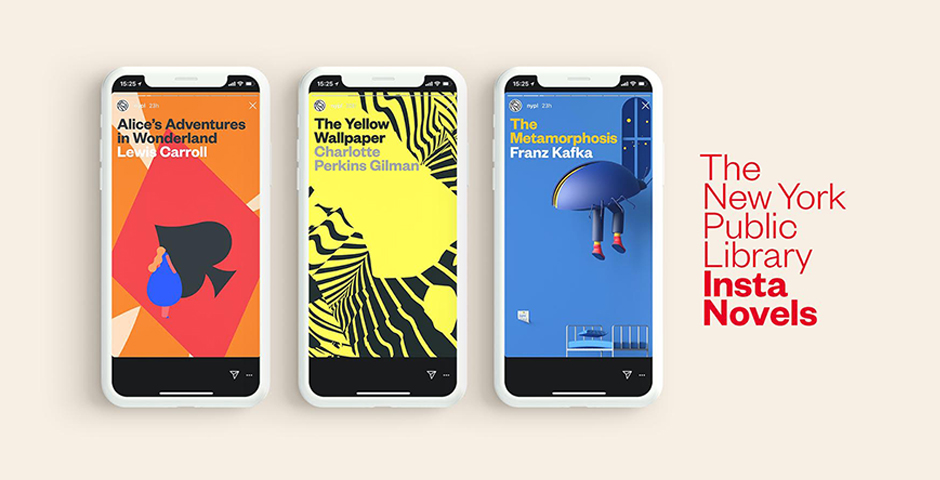 People's Voice / Webby Award Winner - New York Public Library Insta Novels