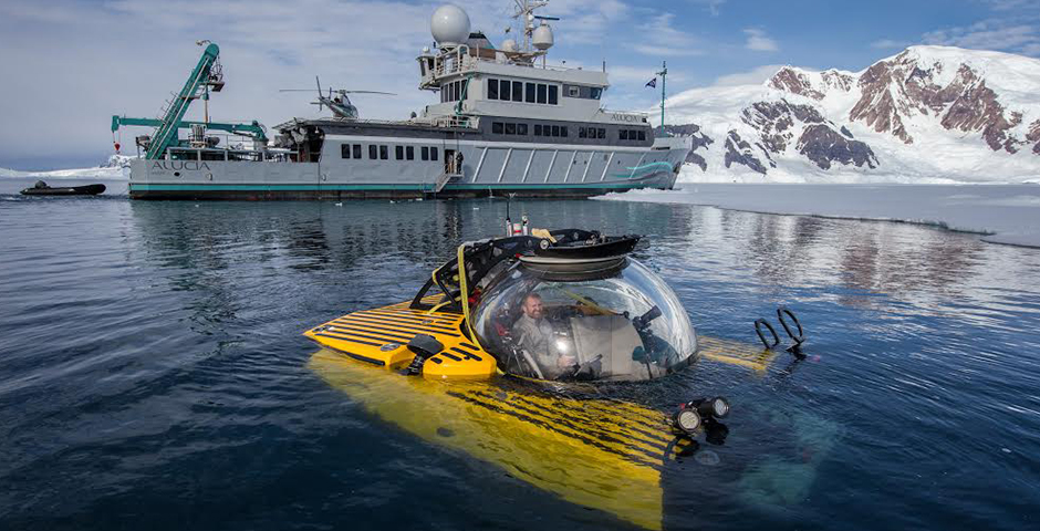Webby Award Winner - The Deepest Dive in Antarctica Reveals a Sea Floor Teeming With Life – OceanX & BBC Earth