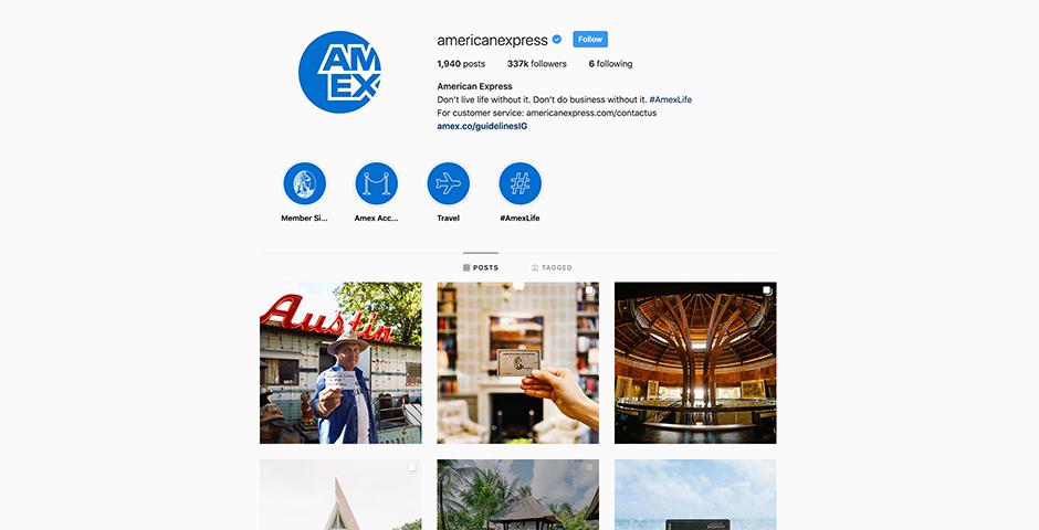 Nominee - Amex Life: American Express Merchant Spotlight Social Campaign