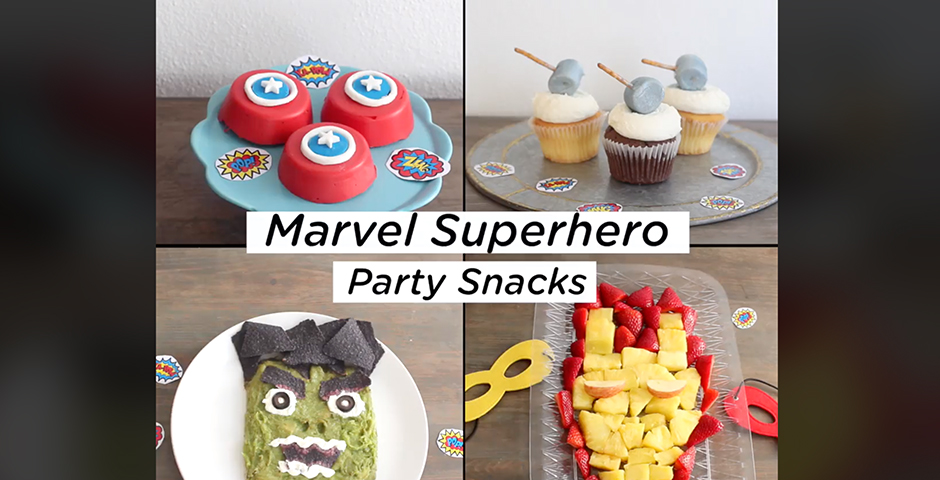 People's Voice / Webby Award Winner - Avengers Superhero Party Snacks