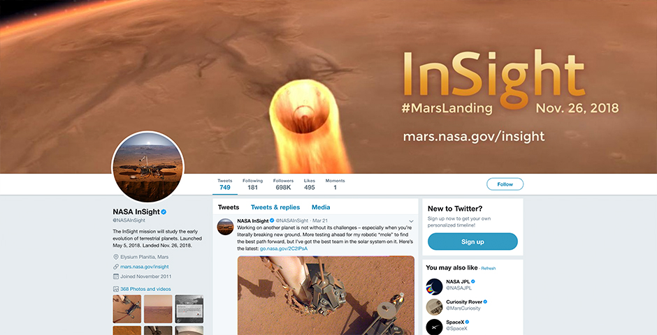 People's Voice - NASA's Mars InSight Mission