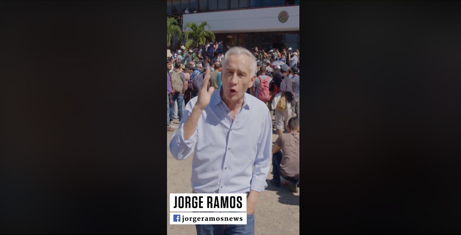 Nominee - Real America with Jorge Ramos – Families & Refugees Risk It All On Migrant Caravan