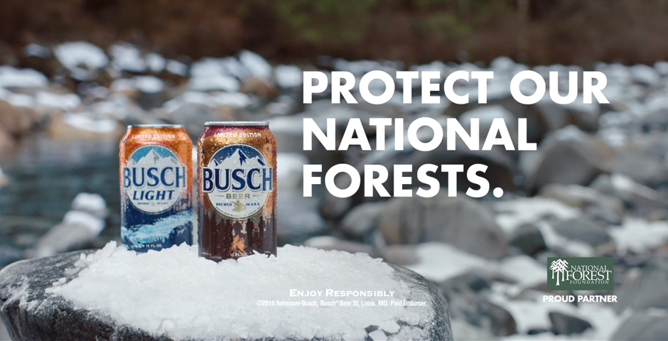 Webby Award Nominee - Busch x National Forest Foundation