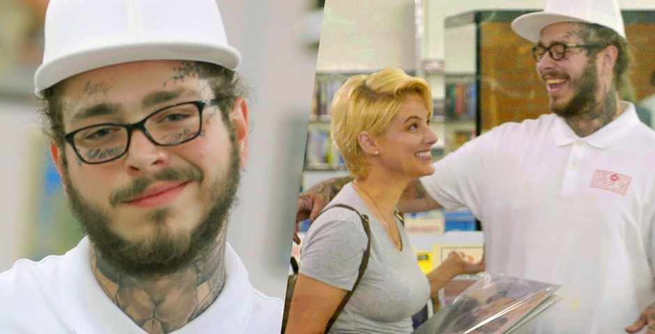 Nominee - Post Malone Pranks People with Undercover Record Store Surprise