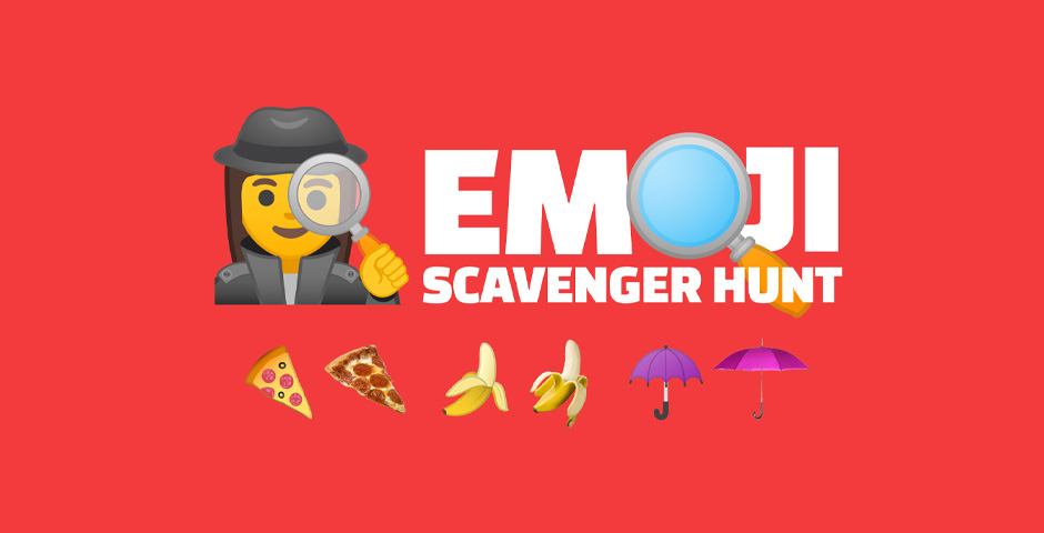 People's Voice - Emoji Scavenger Hunt