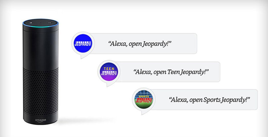 Nominee - Jeopardy! Alexa Skill