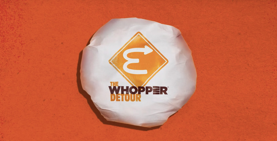 2019 Webby Winner - The Whopper Detour