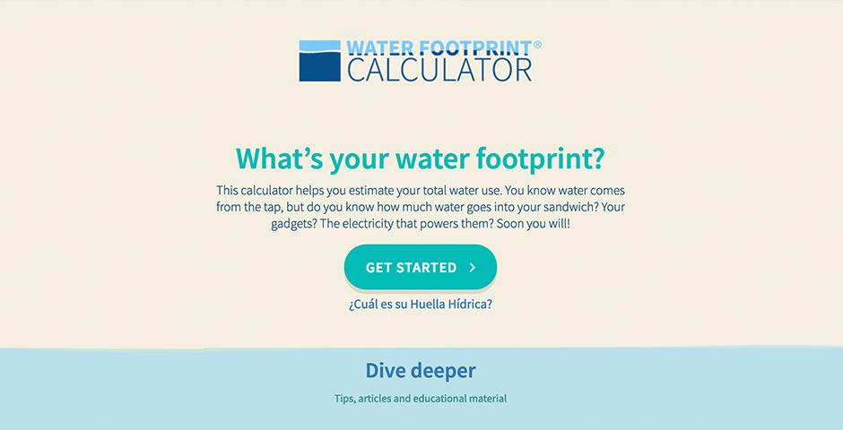 Nominee - Water Calculator