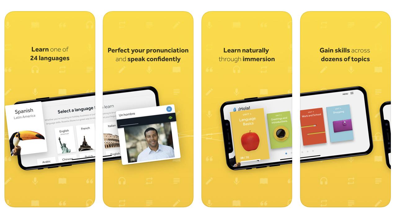 Nominee - Rosetta Stone iPhone App
