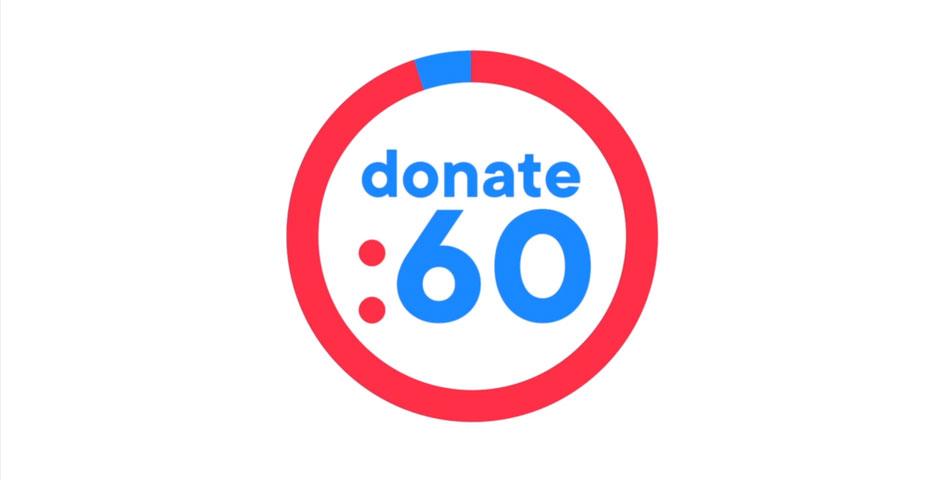 Nominee - Donate 60