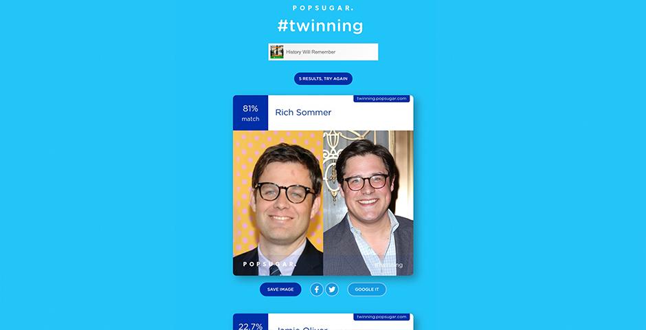 Nominee - Twinning by POPSUGAR