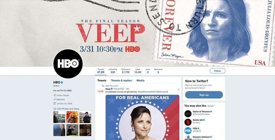 Nominee - HBO Brand Social Media