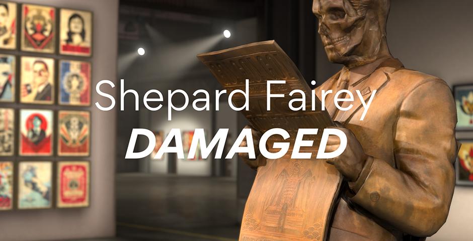 Nominee - Shepard Fairey AR- DAMAGED