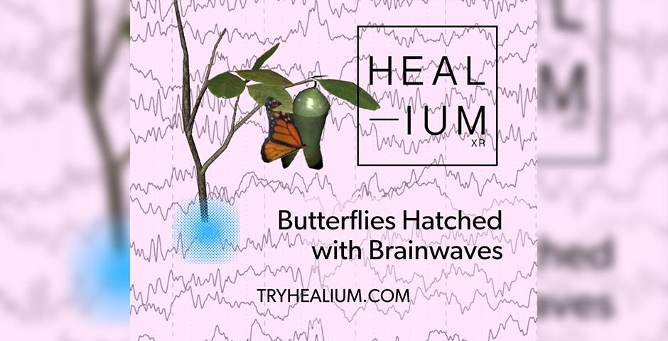 Nominee - Healium Butterfly Brainwaves