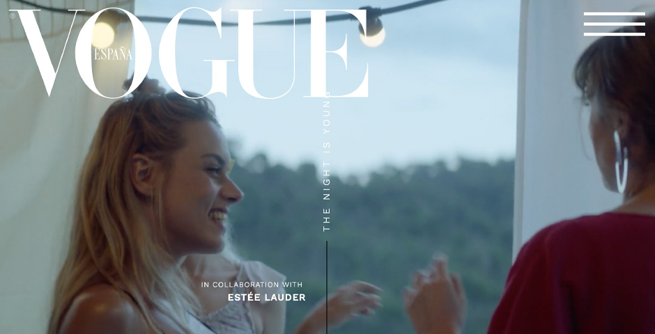 People's Voice - The night is young. VOGUE x Estee Lauder