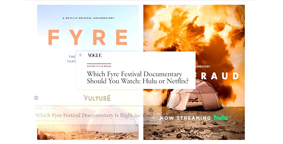 Webby Award Nominee - Fyrestock by Shutterstock