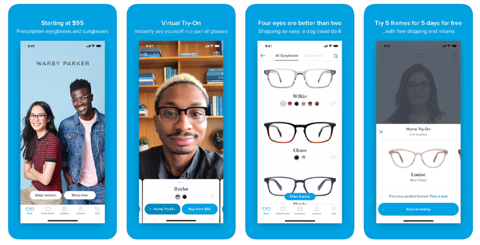 People's Voice - Warby Parker Virtual Try-On