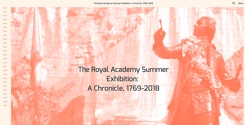 People's Voice - The Royal Academy Summer Exhibition, A Chronicle: 1769—2018