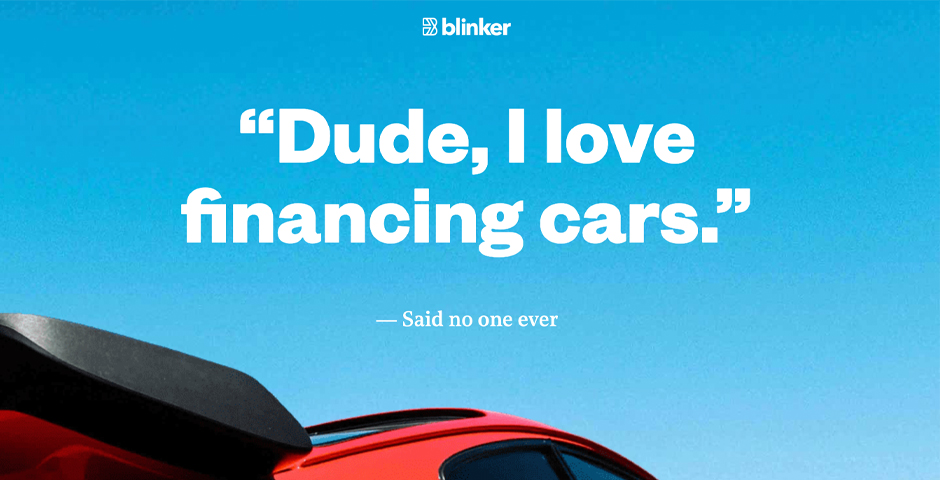 Nominee - Blinker – Finance cars with the snap of a photo