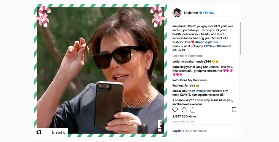 Nominee - Keeping Up with the Kardashians: 12 Days of Kris-Mas
