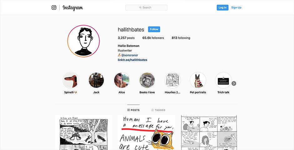 Nominee - @hallithbates