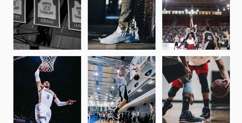 Nominee - Jordan Brand Instagram