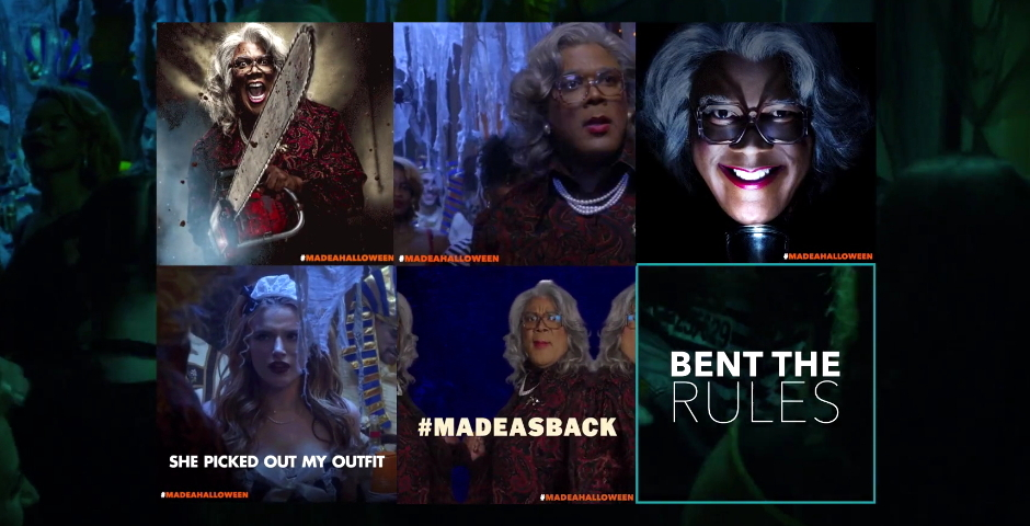 Honoree - Tyler Perry's Boo! A Madea Halloween – Social Media Campaign