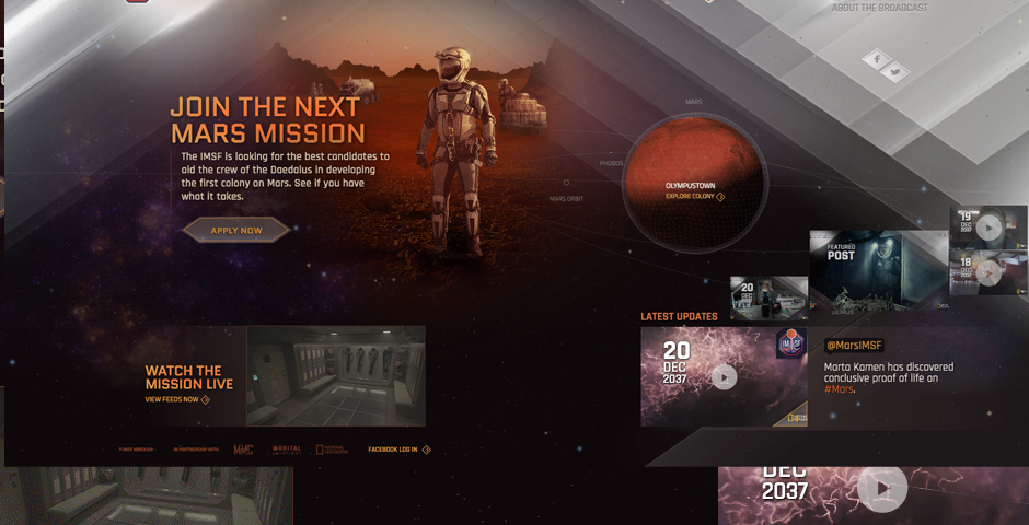 Honoree - MARS Digital Companion Website