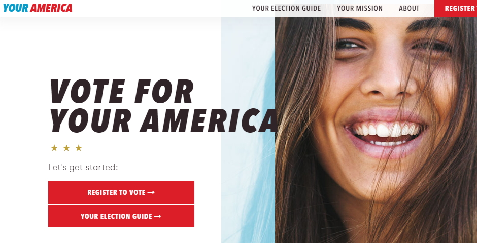 Honoree - Vote For Your America