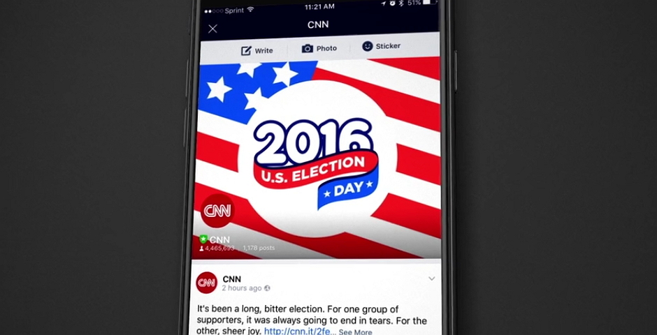 Webby Award Winner - CNN Election Night 2016