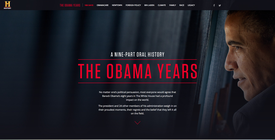 Nominee - The Obama Years – A Nine-Part Oral History