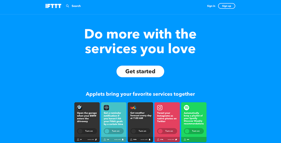 Nominee - IFTTT