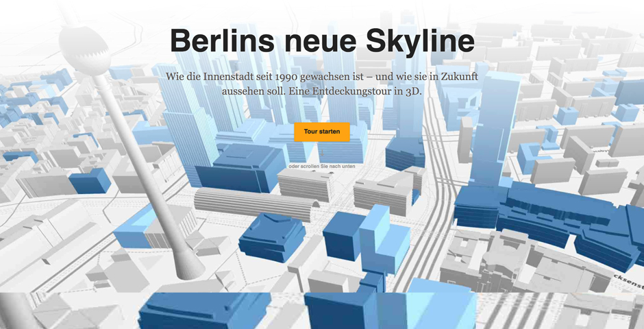 Nominee - The new Skyline of Berlin