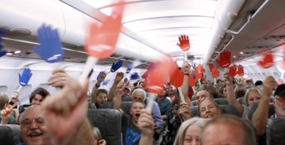 Webby Award Nominee - JetBlue: Reach Across the Aisle