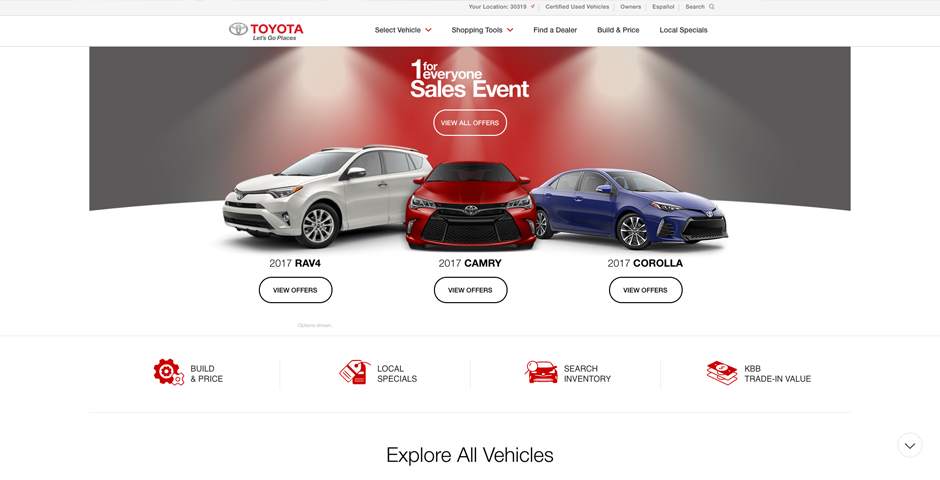 Honoree - Toyota.com