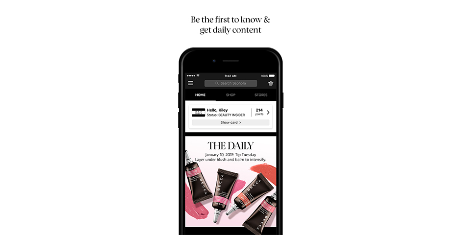 People's Voice - Sephora App